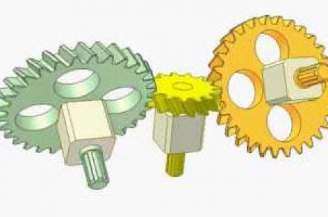 [Mô phỏng cơ cấu cơ khí] Bộ truyền bánh răng xoắn 3