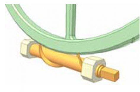 [Mô phỏng cơ cấu cơ khí] Bộ truyền trục vít 12: Dẫn ren bước lớn