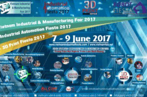Vietnam Industrial & Manufacturing Fair 2017 – Triển lãm Công Nghiệp & Sản Xuất Việt Nam 2017
