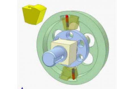[Mô phỏng cơ cấu cơ khí] Ly hợp siêu việt dùng chêm 1
