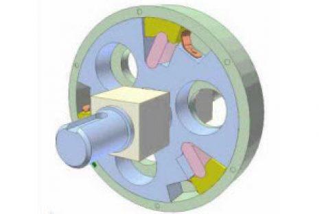[Mô phỏng cơ cấu cơ khí] Ly hợp siêu việt dùng chêm 2