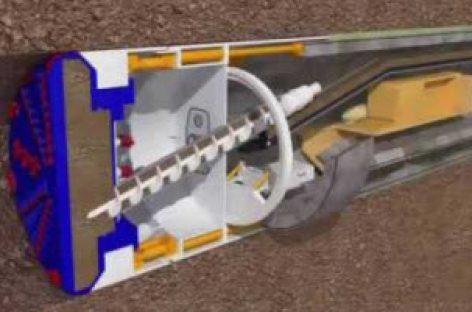 [Video] Robot khổng lồ thi công hầm ngầm như thế nào?
