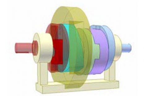 [Mô phỏng cơ cấu cơ khí] Biến tốc bằng đa giác Rơlô 1a