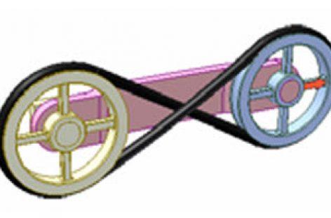 [Mô phỏng cơ cấu cơ khí] Bộ truyền đai hành tinh 1