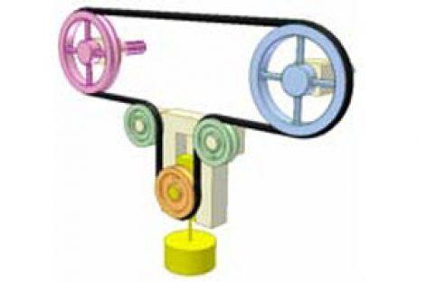 [Mô phỏng cơ cấu cơ khí] Cơ cấu căng đai 1