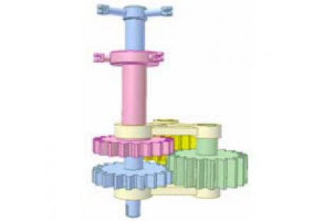 [Mô phỏng cơ cấu cơ khí] Truyền động cho hai cánh quạt đồng trục 2