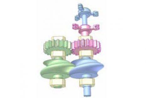 [Mô phỏng cơ cấu cơ khí] Truyền động cho hai cánh quạt đồng trục 6