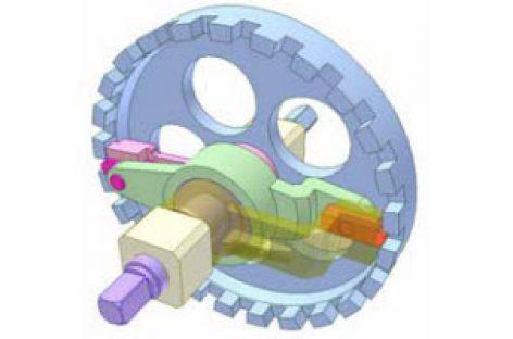 [Mô phỏng cơ cấu cơ khí] Cam tịnh tiến và cơ cấu tay quay con trượt 2
