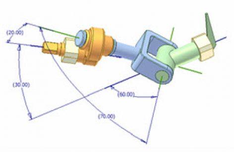 [Mô phỏng cơ cấu cơ khí] Cơ cấu cầu 4R 1