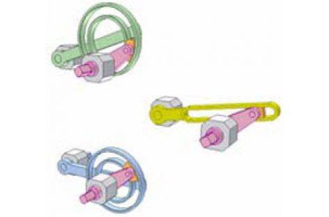 [Mô phỏng cơ cấu cơ khí] Cơ cấu culit với rãnh cong kín 1