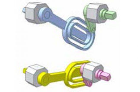 [Mô phỏng cơ cấu cơ khí] Cơ cấu culit với rãnh cong kín 2