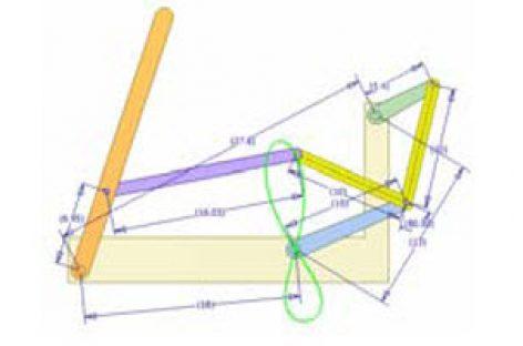 [Mô phỏng cơ cấu cơ khí] Cơ cấu thanh lắc có dừng 2