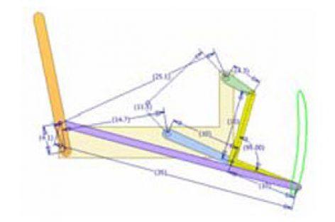 [Mô phỏng cơ cấu cơ khí] Cơ cấu thanh lắc có dừng 3