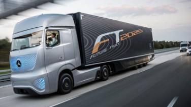 [Video] Future 2025 – Xe tải tự hành của Mercedes