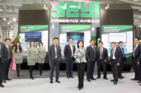 Hệ thống máy dập thông minh của công ty SEYI