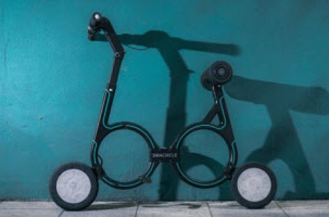 Smacircle S1 – Chiếc xe đạp điện nhỏ gọn nhất thế giới