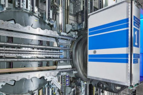 Thang máy không sử dụng dây cáp đầu tiên trên thế giới đã xuất hiện tại Đức!
