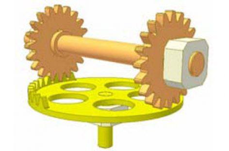 [Mô phỏng cơ cấu cơ khí] Chuyển động của bánh răng khuyết 14
