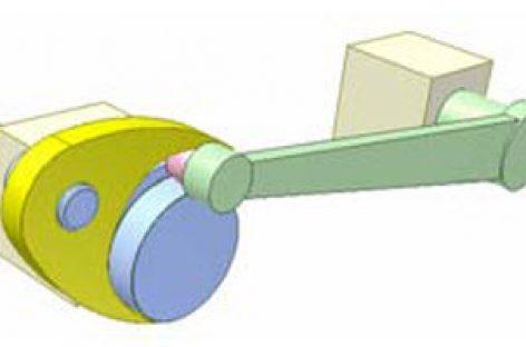 [Mô phỏng cơ cấu cơ khí] Cơ cấu cam kép DR1 a