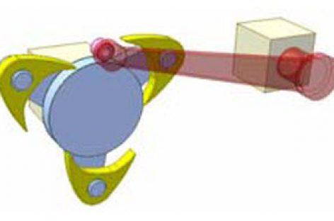 [Mô phỏng cơ cấu cơ khí] Cơ cấu cam kép DR1b
