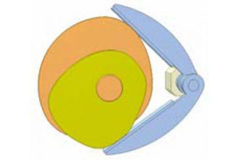 [Mô phỏng cơ cấu cơ khí] Cơ cấu cam kép DRp1