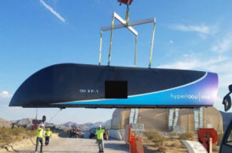 [Video] Hyperloop One đã chạy thử thành công, mới đạt 1/10 tốc độ mong muốn