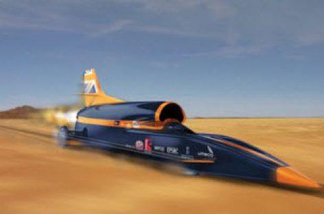 Xe chạy nhanh nhất thế giới sắp đạt tốc độ 1.600km/h