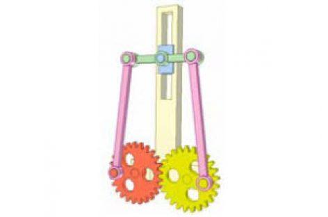 [Mô phỏng cơ cấu cơ khí] Bánh răng và cơ cấu thanh 9b