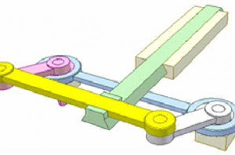 [Mô phỏng cơ cấu cơ khí] Cơ cấu bình hành và con trượt 3