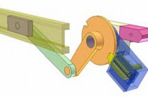 [Mô phỏng cơ cấu cơ khí] Cơ cấu con trượt dừng 2