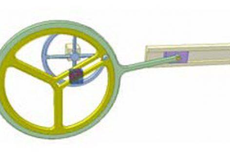 [Mô phỏng cơ cấu cơ khí] Cơ cấu cu lít 4