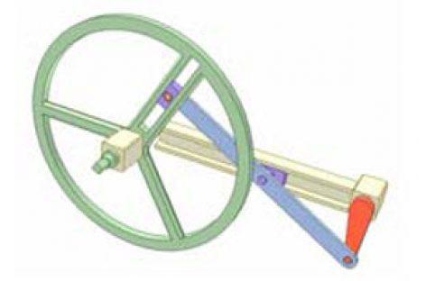 [Mô phỏng cơ cấu cơ khí] Cơ cấu cu lít 5