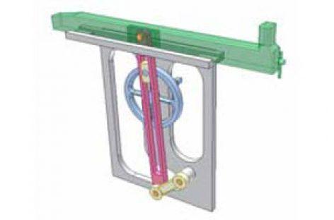 [Mô phỏng cơ cấu cơ khí] Cơ cấu cu lít máy bào ngang 1