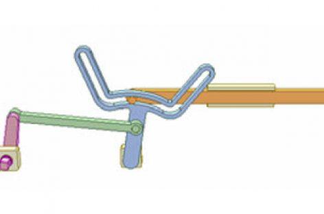 [Mô phỏng cơ cấu cơ khí] Cơ cấu tang có rãnh cong