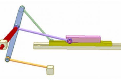 [Mô phỏng cơ cấu cơ khí] Cơ cấu tay quay hai con trượt 1