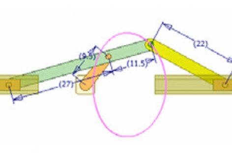 [Mô phỏng cơ cấu cơ khí] Cơ cấu thanh có con trượt dừng 2