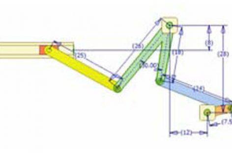 [Mô phỏng cơ cấu cơ khí] Cơ cấu thanh có con trượt dừng 3