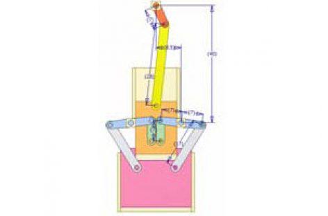 [Mô phỏng cơ cấu cơ khí] Cơ cấu thanh có con trượt dừng 5