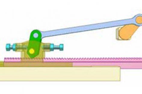 [Mô phỏng cơ cấu cơ khí] Ly hợp một chiều cho chuyển động thẳng 1