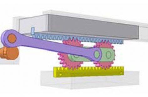 [Mô phỏng cơ cấu cơ khí] Truyền dẫn cho bàn máy đi lại