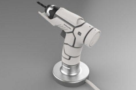 """Vẻ đẹp """"công nghệ"""" và hiện đại của bản concept máy khoan cầm tay Electrolux"""