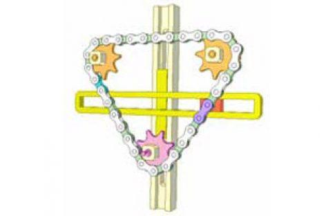 [Mô phỏng cơ cấu cơ khí] Bộ truyền xích 8A