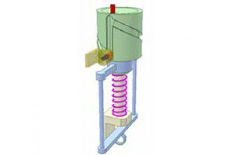 [Mô phỏng cơ cấu cơ khí] Cam thùng để quay 180 độ 2a