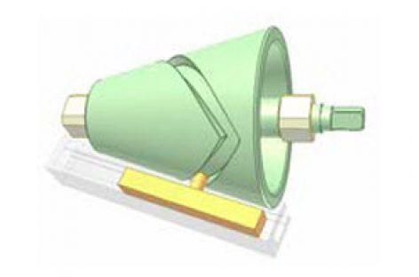 [Mô phỏng cơ cấu cơ khí] Cơ cấu cam côn 1