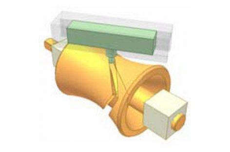 [Mô phỏng cơ cấu cơ khí] Cơ cấu cam hyperboloid