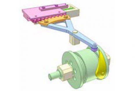 [Mô phỏng cơ cấu cơ khí] Cơ cấu cam thùng 1