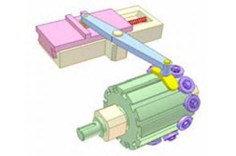 [Mô phỏng cơ cấu cơ khí] Cơ cấu cam thùng 2