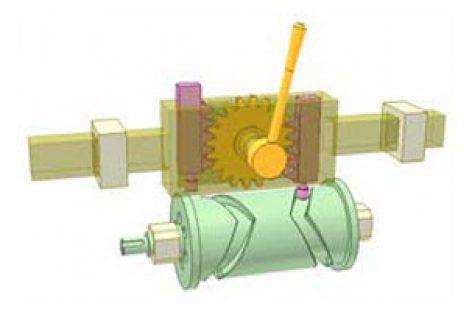 [Mô phỏng cơ cấu cơ khí] Cơ cấu cam thùng BT8