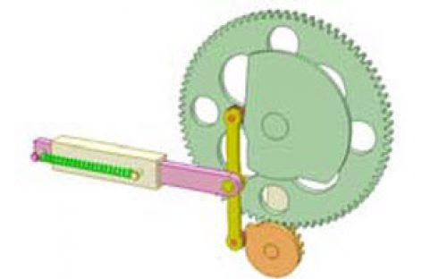 [Mô phỏng cơ cấu cơ khí] Cơ cấu cam và bánh răng 3