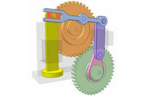 [Mô phỏng cơ cấu cơ khí] Cơ cấu cam và bánh răng 5